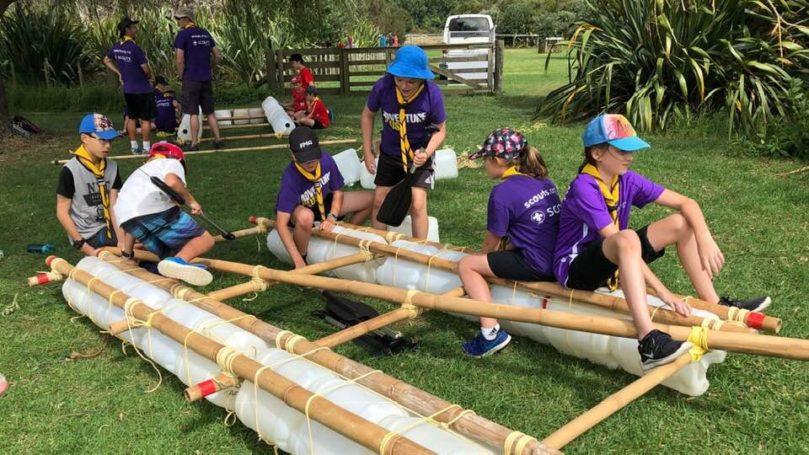 Scouts Rafting Camp – Wenderholm